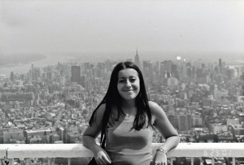 MY_WTC #514 | Elena 2001 | On Top of the WTC