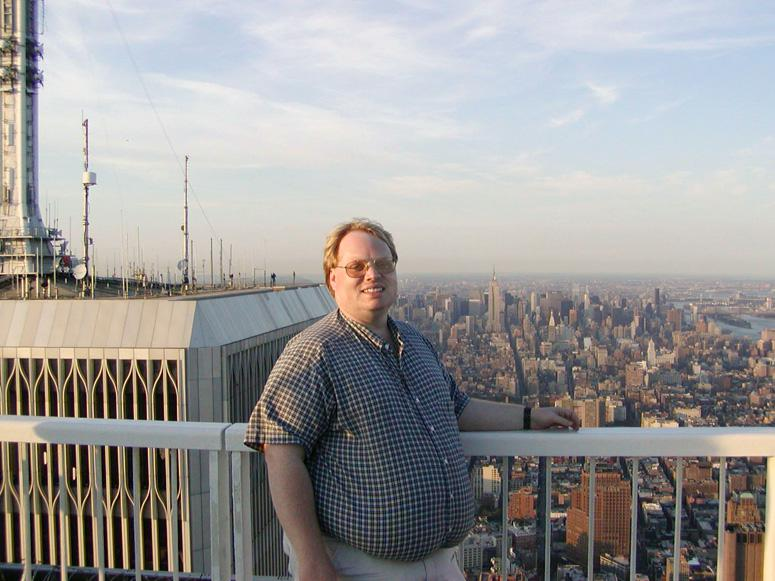 MY_WTC #515 | Ken 2001 | On Top of the WTC