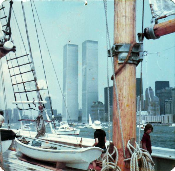MY_WTC #524 | Nick 4th of July 1976 | How I saw the Twin Towers from the Hudson River