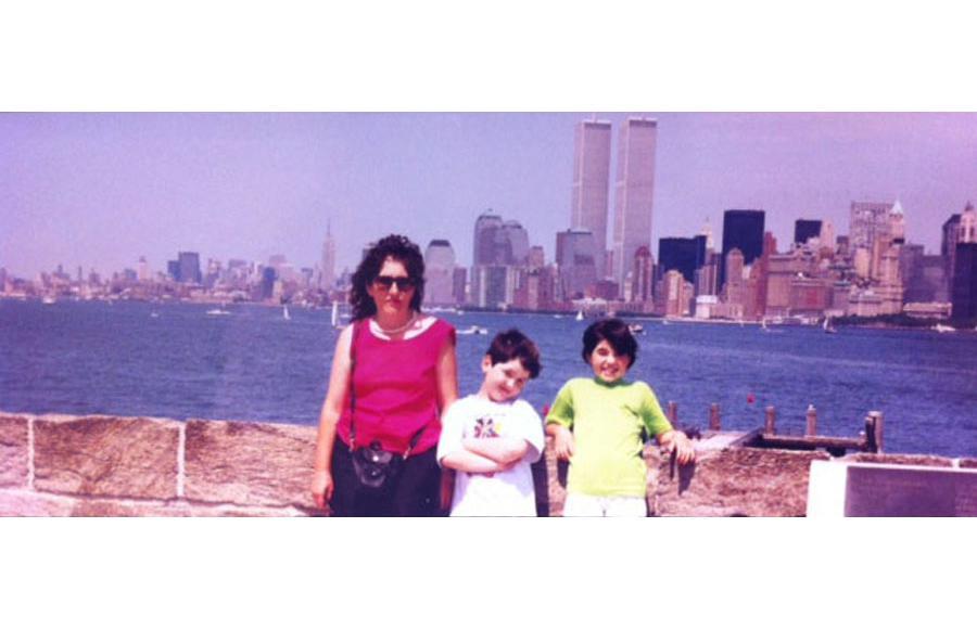 MY_WTC #534 | Nevena 1995 | Liberty Island