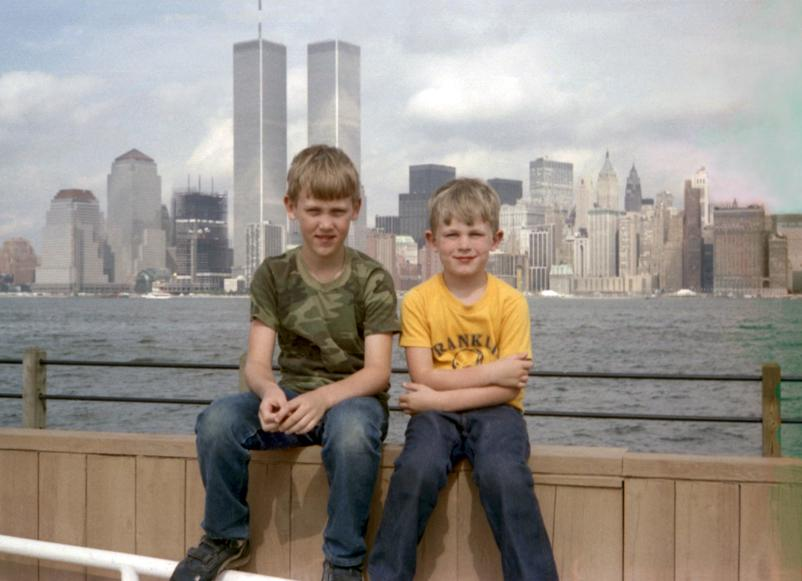 MY_WTC #537 | Dave July 2, 1986 | Brothers