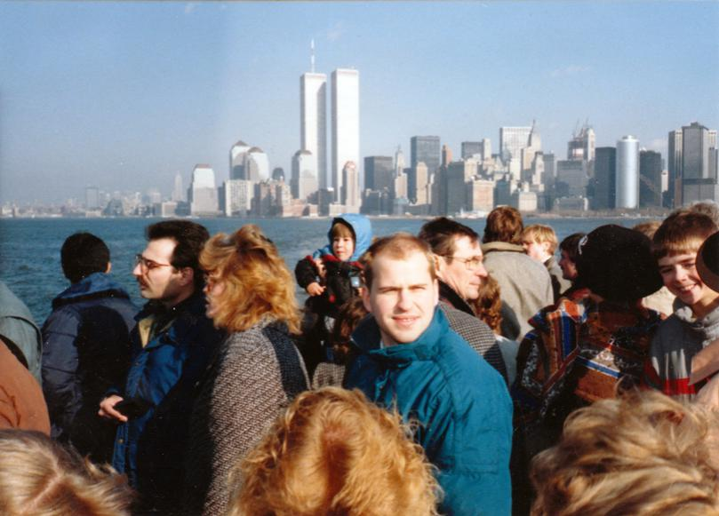 MY_WTC #538 | Øistein 1988 | On The Ferry To Liberty Island