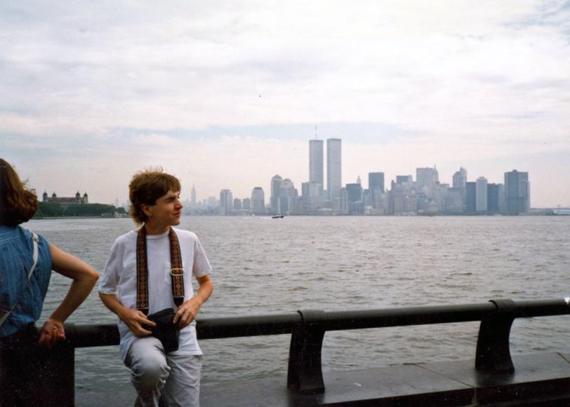 MY_WTC #540 | Jef 1990s | Liberty Island