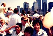 MY_WTC #546 | Wimar 1987 | Ferry to Liberty Island