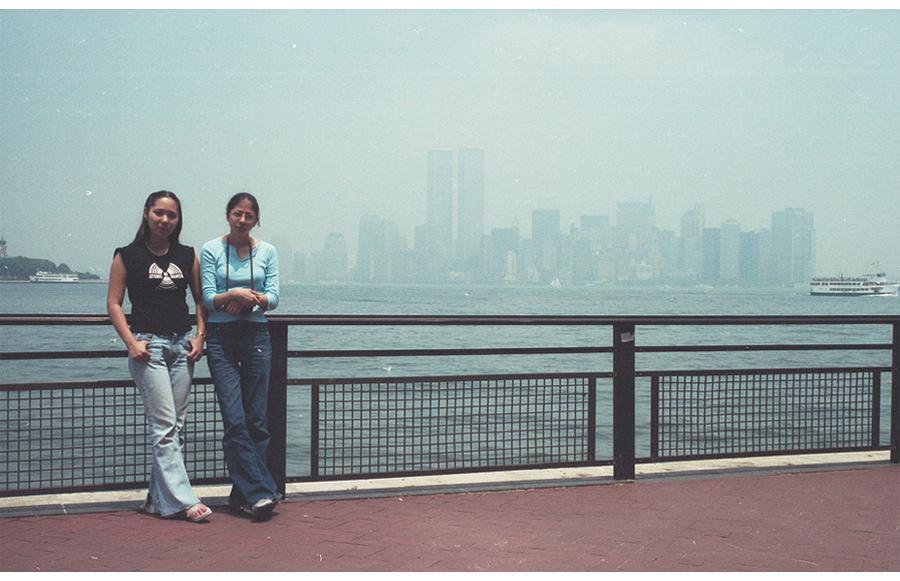 MY_WTC #553 | Elissa 2001 | Liberty Island