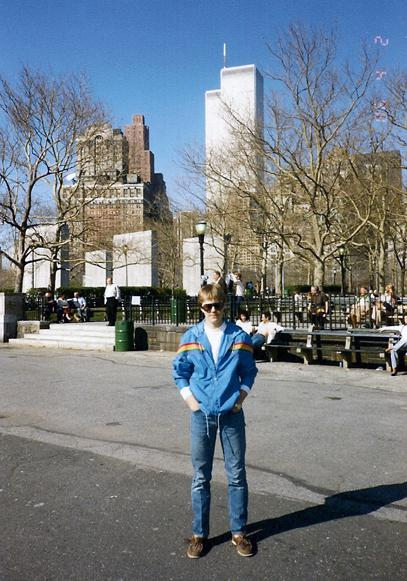 MY_WTC #567 | Martin, April 1986 | David in Battery Park
