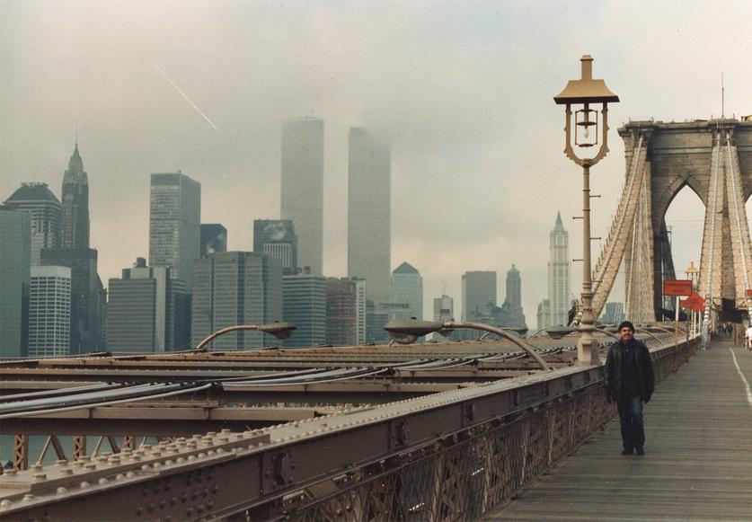 MY_WTC #571 | Christian 1988 | On Brooklyn Bridge