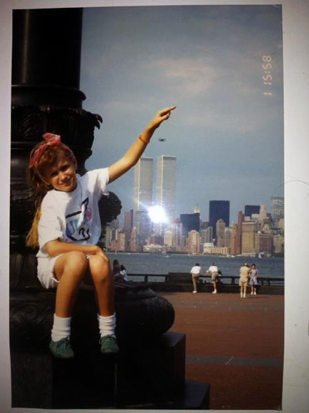 MY_WTC #572 | Fruzsina 1990s | Me at the Statue of Liberty…