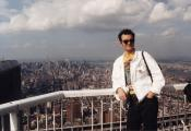 MY_WTC #582 | Ann, June 4, 2001 | Lars On Top of the World
