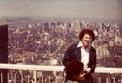 MY_WTC #584 | Alan New York City – May, 1977 | 2 World Trade Center Observation Deck