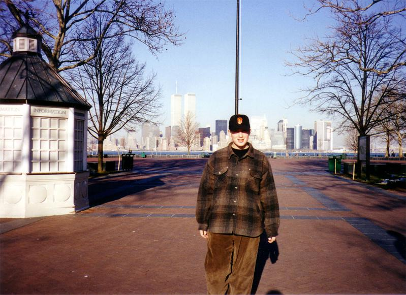 MY_WTC #592 | Michael 1994 | Liberty Island