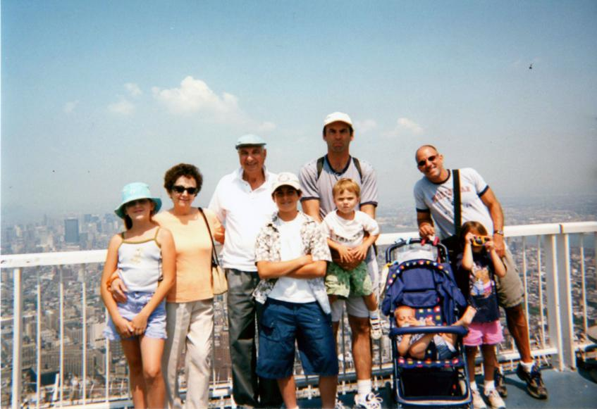 MY_WTC #605 | Justin 2001 | The Family On Top Of The World