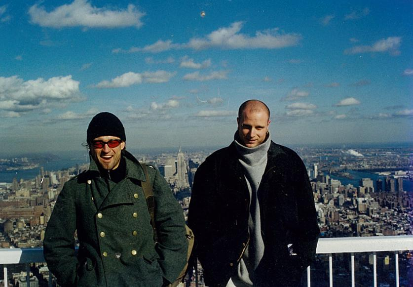 MY_WTC #621 | Boris & Mirko 2000 | On Top of The World