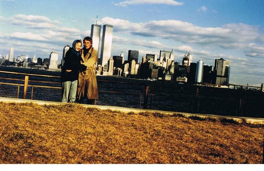 MY_WTC #627 | Heike und Jürgen 1987 | Liberty Island