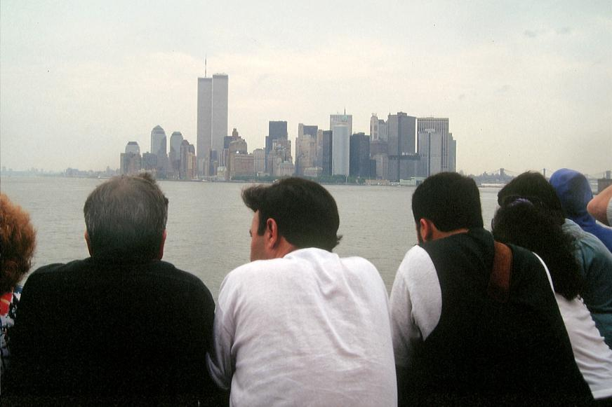 MY_WTC #632 | Robert 1992 | Approaching Manhattan via Staten Island Ferry