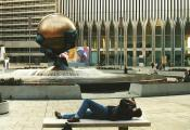 MY_WTC #636 | Volker 1996 | Filming in front of the WTC