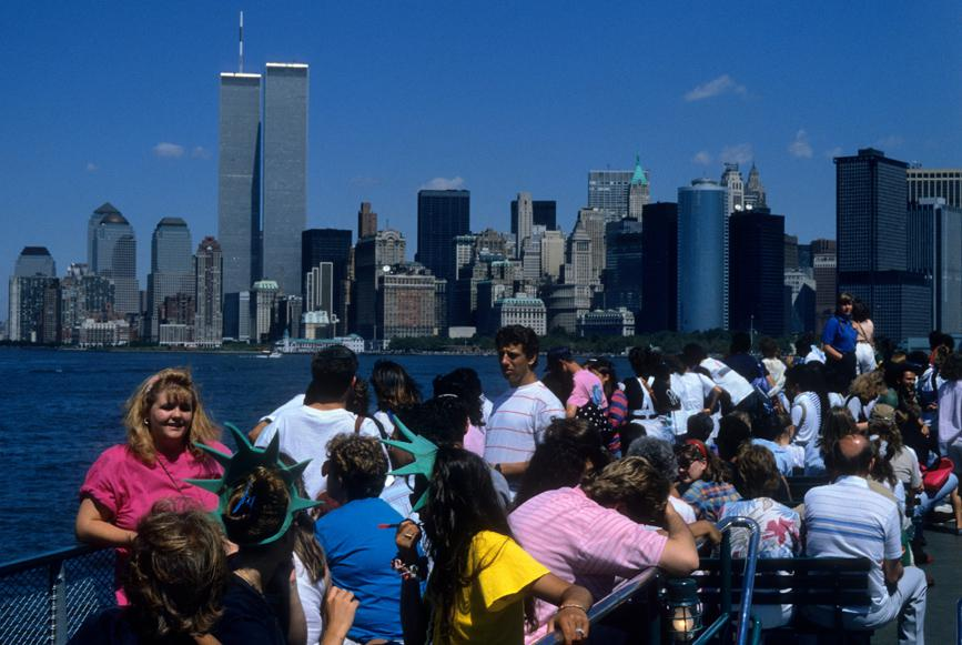 MY_WTC #657 | Volker 1989 |  Liberty Island Ferry