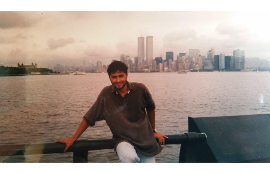 MY_WTC #666 | Fabio 1994 | Liberty Island